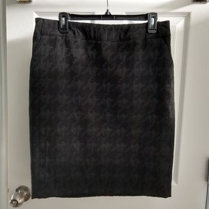 Merona Black pencil skirt